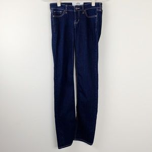 Hollister Dark Wash Skinny Jeans Juniors Size 1L